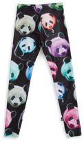 Zara Terez Girl's Neon Panda Leggings