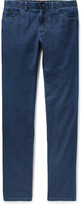 Brioni - Livigno Slim-fit Cotton And Silk-blend Denim Jeans