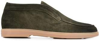 Santoni Mgya mid-high loafers