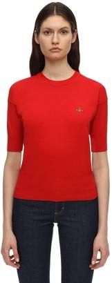 Vivienne Westwood Cotton Knit S/s Sweater