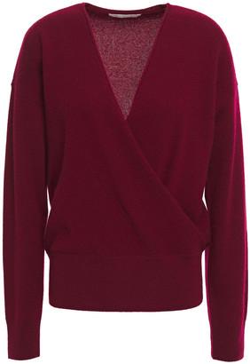 Jonathan Simkhai Wrap-effect Cashmere Sweater