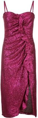 Jonathan Simkhai sequinned ruffle detail dress