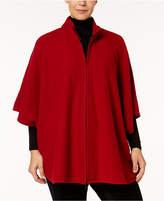 Anne Klein Plus Size Poncho Sweater