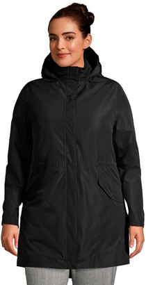 Lands' End Plus Size Insulated 3-in- 1 Rain Parka Jacket