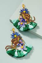 Elizabeth Cole Trixie Parrot Drop Earrings