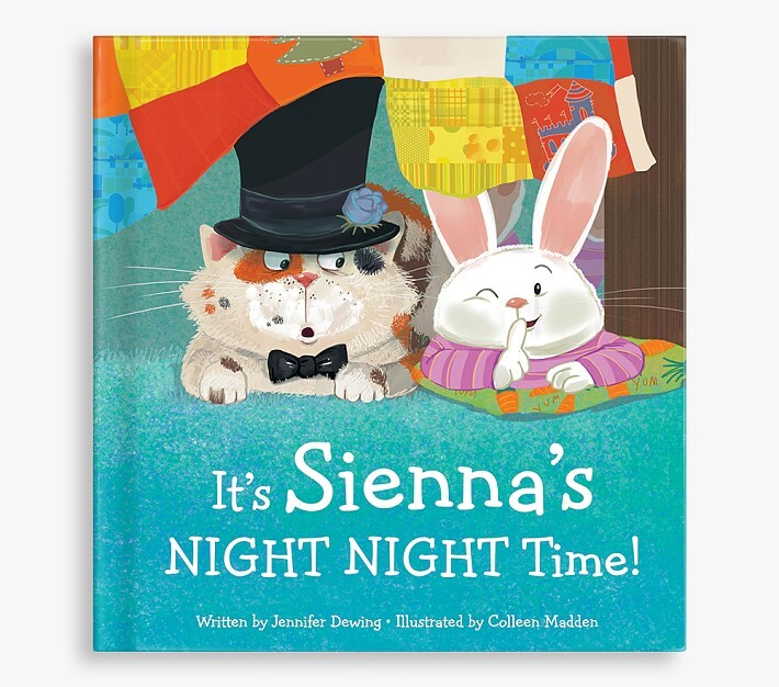 Pottery Barn Kids Its My Night Night Time Personalized Board Book