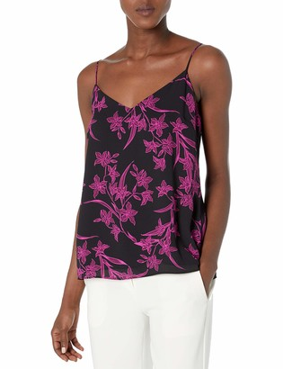 Vince Camuto Women's Iris Silhouettes Lace Back Cami