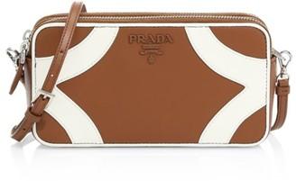 Prada Mini Bowling Leather Camera Bag