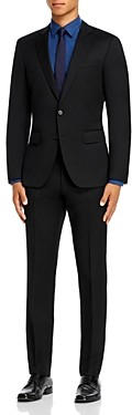 BOSS Huge/Genius Wool Twill Slim Fit Suit