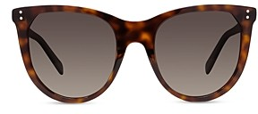 Celine Women's Oval Gradient Polarized Sunglasses, 53mm