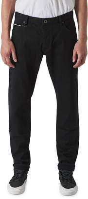 Neuw Men's Lou Slim Dark-Wash Jeans, Black Selvedge