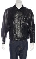 Ann Demeulemeester Leather Work Jacket