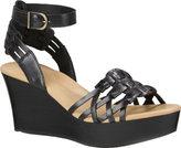 UGG Women's Farrah Ankle Strap Wedge Sandal
