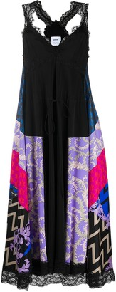 Emilio Pucci x Koche abstract-print empire-line dress