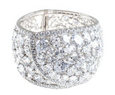 Jarin K Jewelry - Hinged Overlap Cuff