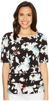 Ellen Tracy Double Hem Tee Women's T Shirt