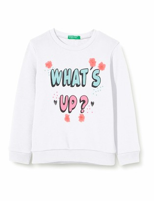 Benetton Girl's Felpa Sports Hoodie