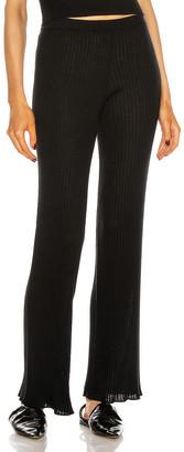 SABLYN Jordan Pant in Black   FWRD