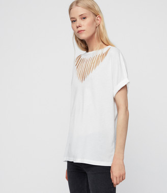 AllSaints Imogen Boy Slash T-Shirt