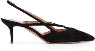 Aquazzura Sling Back Low Pumps