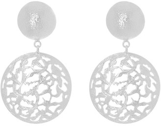 CHRISTIE NICOLAIDES Lila Earrings Silver