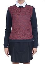 Carven Sweatshirt With Lace Detail