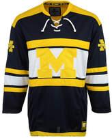 Colosseum Men's Michigan Wolverines Open Net Ii Hockey Jersey