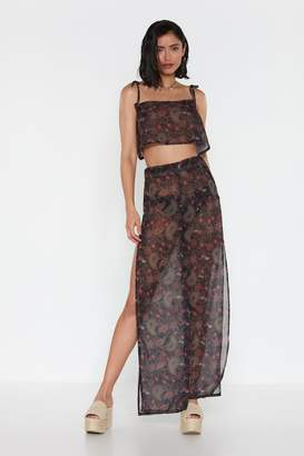Nasty Gal Womens Paisley The Consequences Cover-Up Trousers - Black - 6, Black