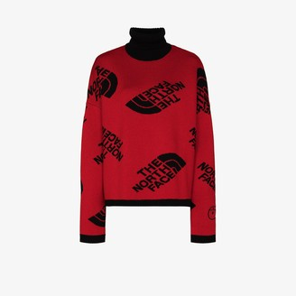 The North Face Logo Intarsia Wool Sweater