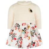 Catimini CatiminiBaby Ivory Floral Print Dress