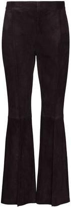 Marni Flared Lambskin Trousers