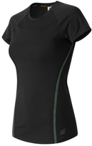 New Balance Women's Trinamic Short Sleeve Shirt