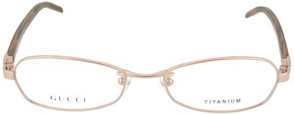 Gucci Round-Frame Optical Glasses