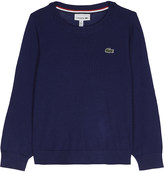 Lacoste Knitted crew neck jumper 4-16 years