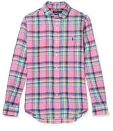 Polo Ralph Lauren - Slim-fit Checked Linen Shirt