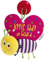 Mamas and Papas Babyplay Little Lady on Board Sign - Butterfly