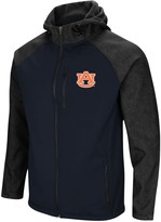 Colosseum Men's Navy Auburn Tigers Hut! Full-Zip Jacket
