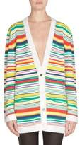 Loewe Striped Cotton Cardigan