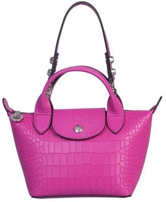 Longchamp Mini La Pliage Cuir Bag