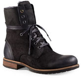 UGG Larus Leather Lace-Up Boots