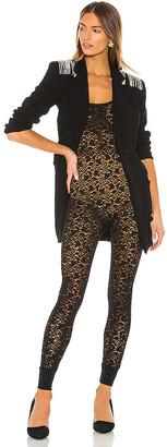 Enza Costa Lace Strappy Bodysuit