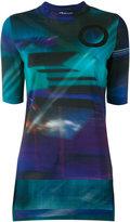 Y-3 AOP T-shirt - women - Cotton/Spandex/Elastane - XXS