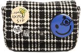 Vivienne Westwood Small Avon Tartan Badges Wool Bag