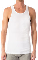 Michael Kors Ribbed Cotton Tank Tee