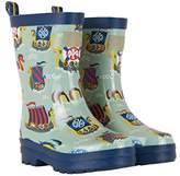 Hatley Boys' Printed Rain Wellington Boots,10 Child UK 27 EU