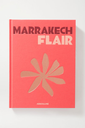 Assouline Marrakech Flair By Marisa Berenson Hardcover Book - Red