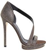 Brian Atwood Consort Sandal in Silver