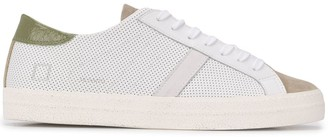 D.A.T.E Low-Top Mesh Panelled Sneakers