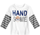 First Impressions Handsome-Print Layered-Look Cotton T-Shirt, Baby Boys (0-24 months), Created for Macy's
