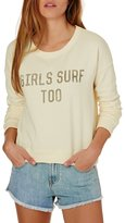 Billabong Girls Surf Too Sweatshirt